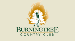 This is the logo for Burning Tree Country Club located in Decatur, Alabama.
